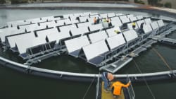 The Aussie Floating Solar Farm To Alleviate California's