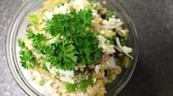 Healthy Mediterranean Quinoa Salad