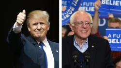 Trump et Sanders remportent haut la main la primaire du New