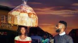 Fa capolino per caso nella foto del rapper: così questa donna nigeriana diventa una