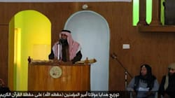 Il ritorno del califfo Abu Bakr al-Baghdadi: immortalato mentre parla in moschea a