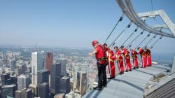 CN Tower's EdgeWalk Sets Guinness World