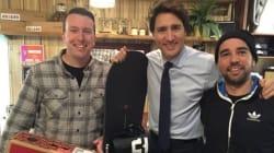 Quand le premier ministre du Canada se cherche une planche à