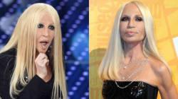 La reazione di Donatella Versace all'imitazione della Raffaele è degna