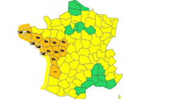 10 départements en vigilance orange pour vents, vagues et