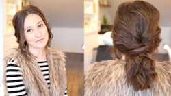 How To Get A Romantic Ponytail For Your Valentine's Day