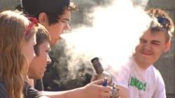 Trop de marijuana pose un risque aux