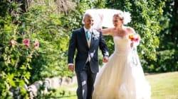 Cette mariée a tout fabriqué pour son mariage