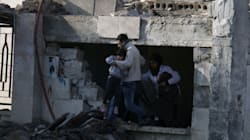 Syrian Children Among The Dead In Missile Strike On Hospital,
