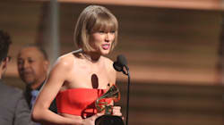 Taylor Swift Sends Kanye West A Message During Grammys Album Of The Year