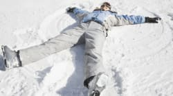 A Simple Snow Angel Can Show Your Support For Peace In