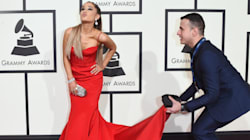 Ariana Grande Had The Best Accessory On The Grammys Red