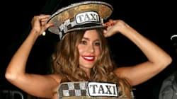 Sofia Vergara Dressed Up Like A Taxi For The
