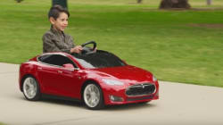 Tesla Introduces Toy Car For (Really) Rich
