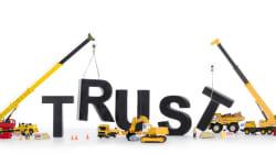 「職場に信頼できる人がいる」と答えた人は何%?(調査結果)