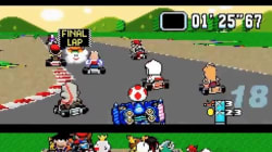 Il met plus de cent concurrents au départ d'un circuit de Mario