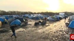 La Cnn nel campo profughi di Dunquerke: