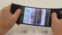 Un smartphone flexible qui permet de