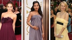 Best Oscar Maternity Dresses Of All