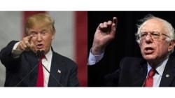 Donald Trump face à Bernie Sanders: le Joker contre Robin des