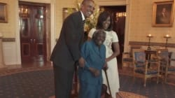 106-Year-Old Woman Turns White House Visit Into A Dance