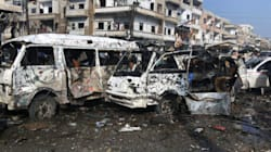 Deadly Bombings Kill Scores In Syria As U.S. And Russia Talk