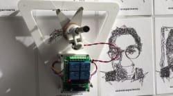 Ce robot de Google dessine votre portrait d'un seul