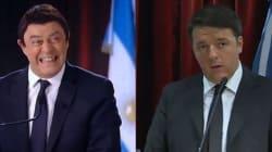 Crozza fa Renzi in Argentina: