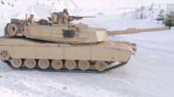 Dérapages (plus ou moins contrôlés) de tanks