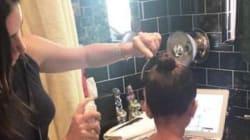 Celebrity Hairstylist Jen Atkin Helps North West With Her Elsa