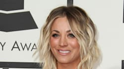 Kaley Cuoco Has Long Hair