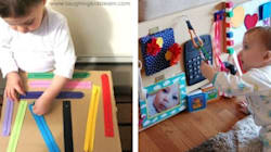 DIY Busy Board Ideas To Keep Your Busy Toddler...
