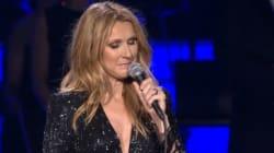 Une Céline Dion forte remonte sur scène