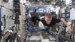 Même dans la Station spatiale internationale, on n'est pas à l'abri d'une caméra