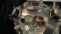 Ma così non vale! Robot risolve il cubo di Rubik in meno di un