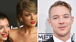 Lorde And Diplo Cuddly At Brit Awards, T-Swift Tiff Finally Behind