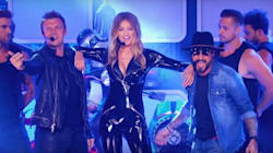 Watch Gigi Hadid Lip Sync In Leather With The Backstreet