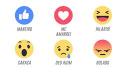 Como seriam as reações do Facebook em vários estados do
