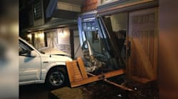 Teen Driver Crashes Into Kim Cattrall's B.C.