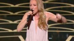 Audrey Lamy a osé chanter aux César (et pas qu'un