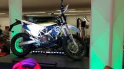 C'est le Salon de la moto de Montréal ce
