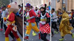 東京マラソン2016、思わず二度見しちゃった個性派ランナーたち(画像集)