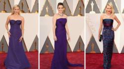 Oscars 2016: le mauve vole la vedette sur le tapis rouge