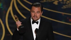 King Of The World! Leonardo DiCaprio Finally Wins An