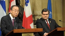 Coderre Tells UN Successful Refugee Resettlement Hinges On