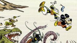 Quand des auteurs de BD franco-belge s'emparent de Mickey, ça donne
