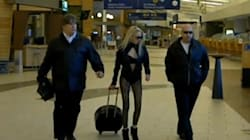 WATCH: Lady Gaga Spotted In Moncton,