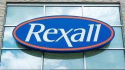 Les pharmacies Rexall vendues pour 3