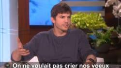 Ashton Kutcher raconte son mariage secret avec Mila Kunis