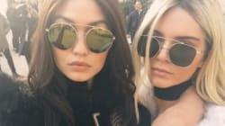 Kendall et Gigi ont échangé de couleur de cheveux pour la Fashion